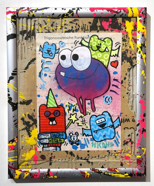 "Angry Koala & HKDNS: ""Trigonometrische Funktion"" - Collaboration Artwork - Streetart - SALZIG"
