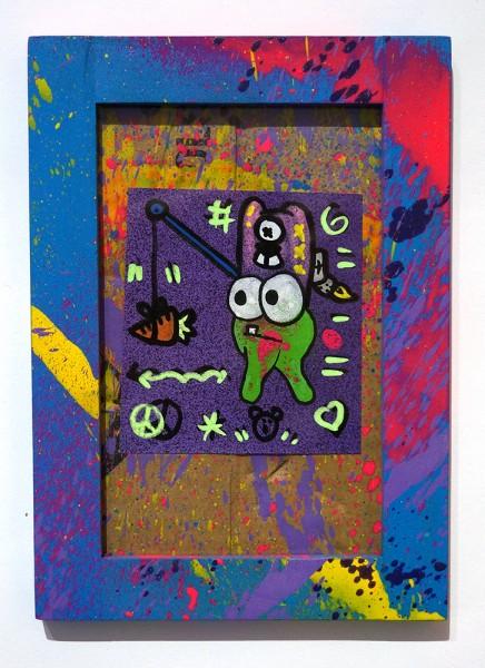 """Angry Koala & HKDNS: """"Carrot"""" - Collaboration Artwork at SALZIG Berlin"""
