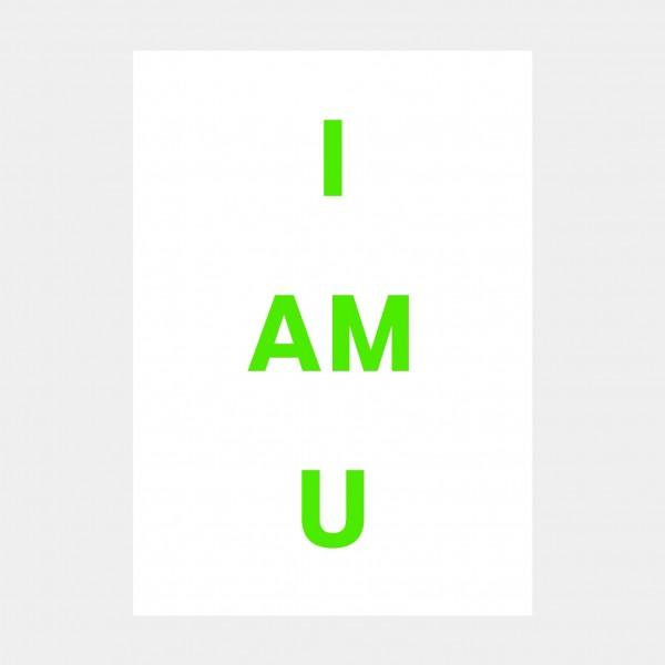 """Oliver O. Rednitz: """"I am U"""""""