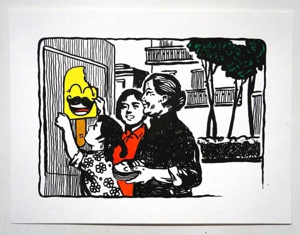 """Señor Schnu: """"Schnupaganda"""" - SALZIG, Streetart Galerie in Friedrichshain"""