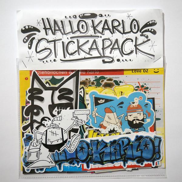 HalloKarlo - Stickapack - Sticker @salzigberlin