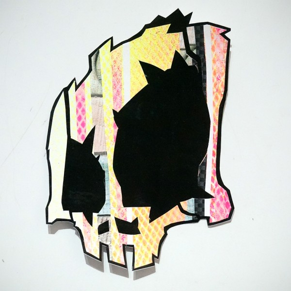 Wudywood: Yellow Skull - Handmade Sticker