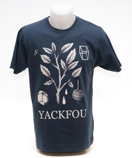 Yackfou - Malamarama T-Shirt auf Denim Blue