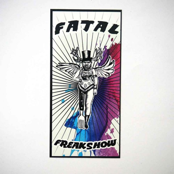 Fatal Freakshow - Sticker - Farbaufkleber - available at SALZIG.Berlin