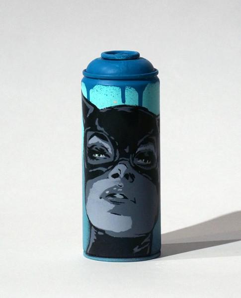 "Liz_Art_Berlin: ""Catwoman Face"" - Spraycan - SALZIG Berlin StreetartGallery"