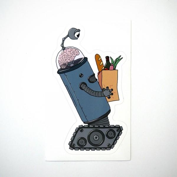 """Späm: """"Robot"""" Sticker - Humanoids Series"""