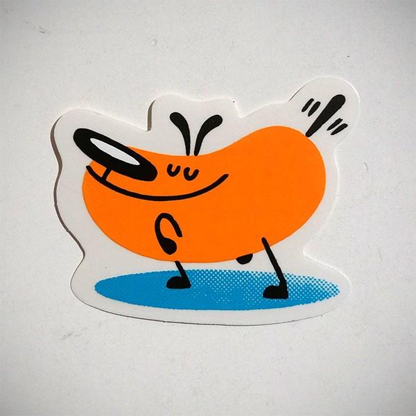 "Dave the Chimp: ""Dog"" - Sticker"