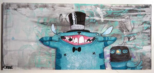 Orble - Smile - SALZIG Friedrichshain Berlin - Streetart Galerie