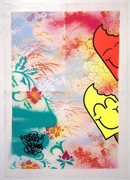 "Señor Schnu: ""Floral Poster 1"" -  SALZIGBerlin"