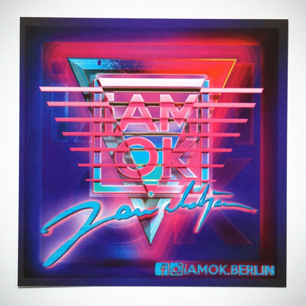 iAMOK: Eighties - Sticker