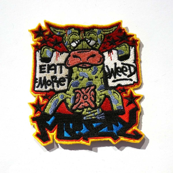 Mesy - Eat More Weed - Patch - salzigberlin