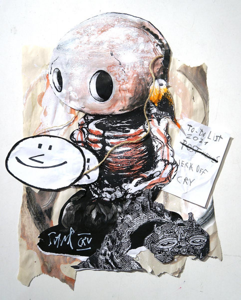 "Sam Crew aka John Reaktor: ""To Do List"" - streetart - salzigberlin"