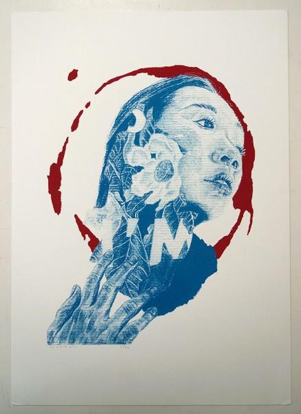 "Alan Myers: ""No title 4"" - Screenprint on Paper"