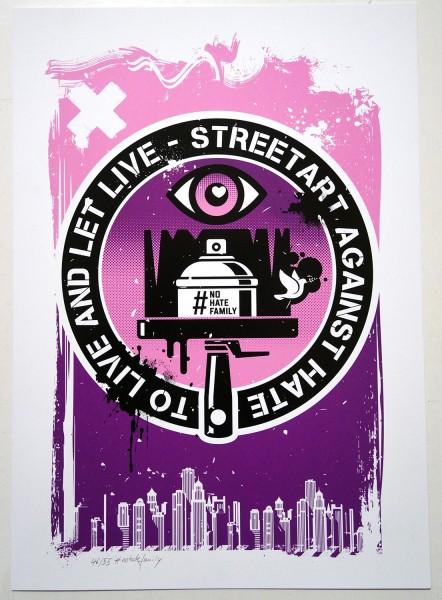 Planet Selfie: Streetart Against Hate