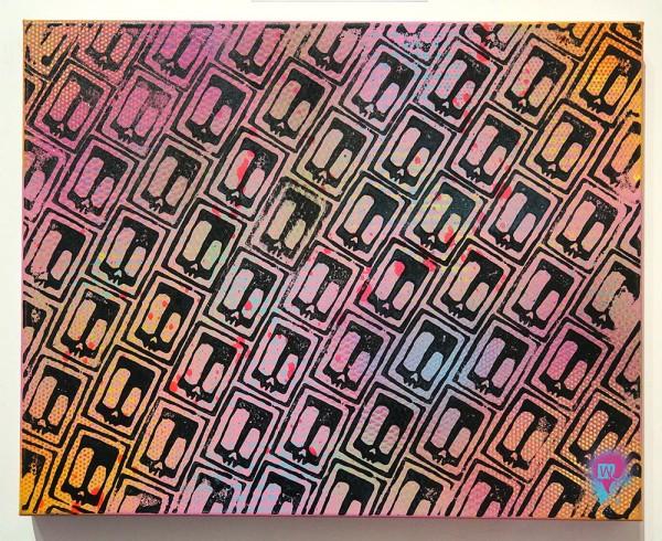 "Wudywood: ""Skulls"" -mixed media on Canvas - 50cm x 40cm x 4cm - signed at the backsideWudywood: ""Skulls"" -mixed media on Canvas - 50cm x 40cm x 4cm - signed at the backside"