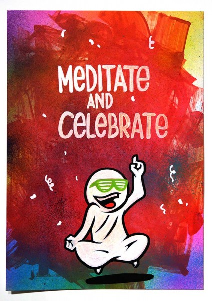 "Mein lieber Prost: ""Meditate And Celebrate"" - buy at SALZIGBerlin"