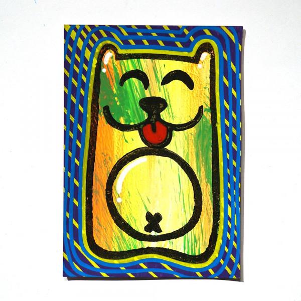 "Angry Koala: ""Vombatoidea Lingua"" - Happy Postcard - SALZIG"