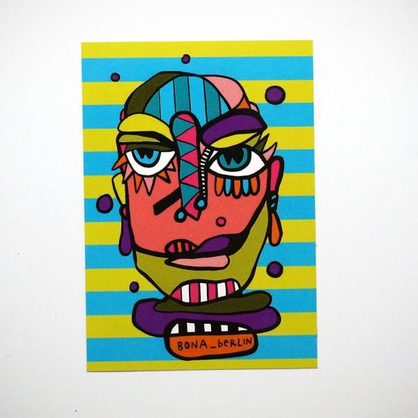 "Bona Berlin: ""Head IV"" - Sticker"