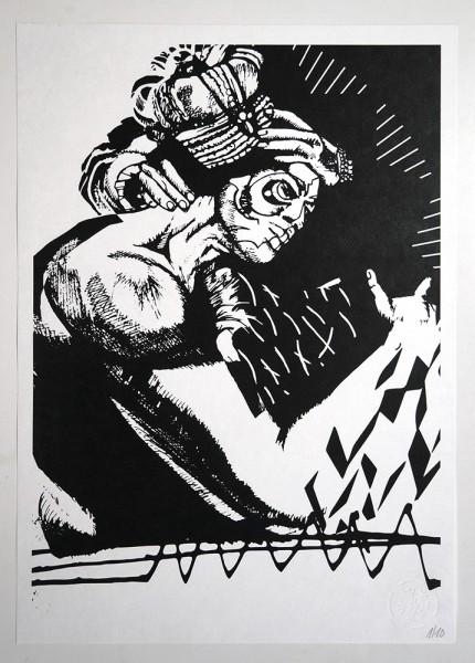 """FLOCKE//ART: """"COLLAGERALSCHADEN 07"""""""