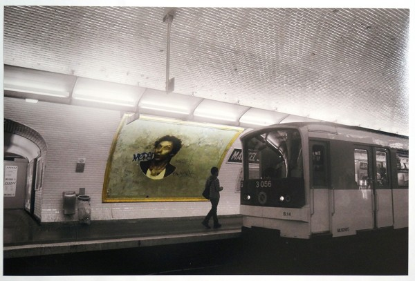 "Fatal: ""epsylon point"" in the metro of Paris - Photo"