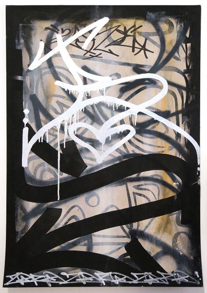 "Zore64: ""S"" - Cardboard - Streetart SALZIGBerlin"