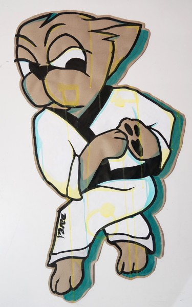 "Dared: ""Martial Art - Paste Up I"""