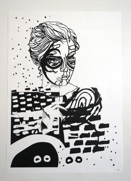 """FLOCKE//ART: """"COLLAGERALSCHADEN 04"""""""