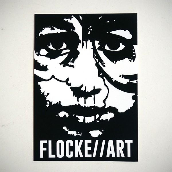 The Boi - Sticker von Flocke Art