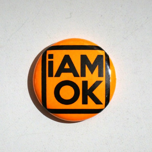 iAMOK Orange 1 - Button