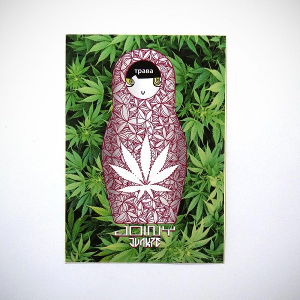 """Joiny: """"Weed"""" - Sticker"""