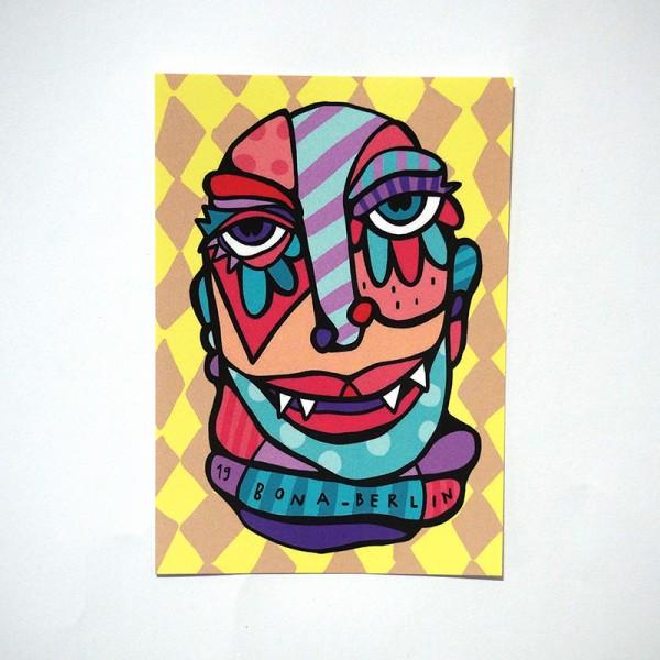 "Bona Berlin: ""Light"" - 7,4cm x 10,5cm / Sticker"