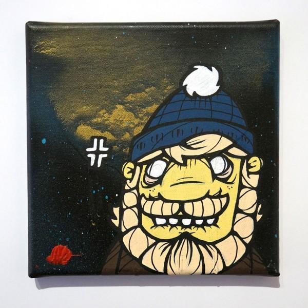 "Milchbengel Ultra: ""Kaptn"" - canvas"