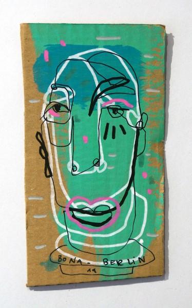 Bona Berlin: Head IV - Cardboard, SALZIG Berlin