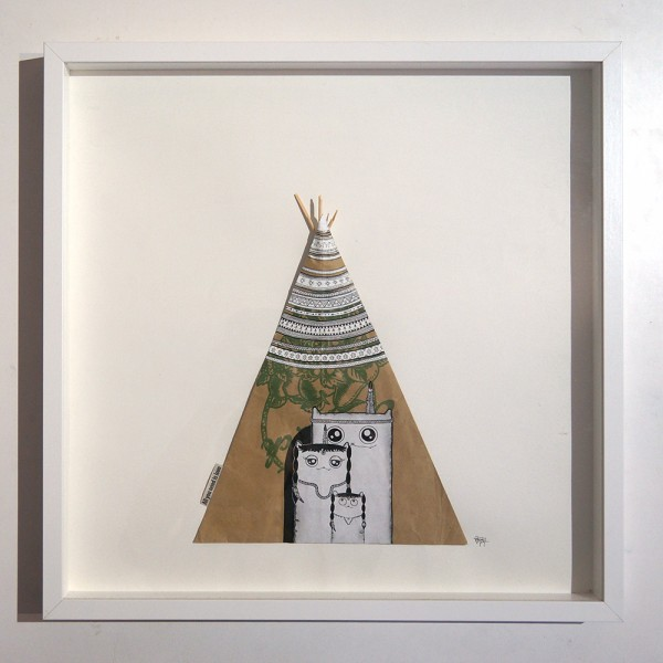 "Rabea Senftenberg: ""All You Need Is Love"" Tipi Paper bag - series"