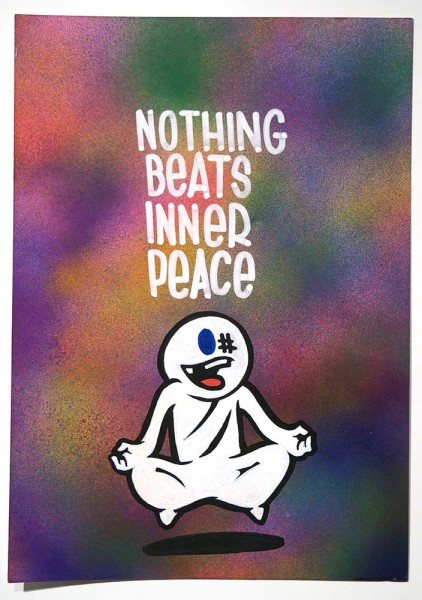 "Mein lieber Prost: ""Nothing Beats Inner Peace""  - buy at SALZIG Berlin"