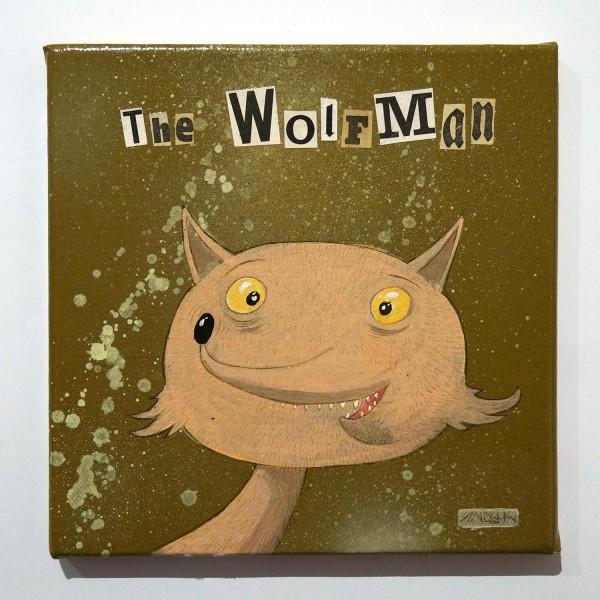 Andy K: The Wolfman - SALZIG Berlin Streetart Galerie