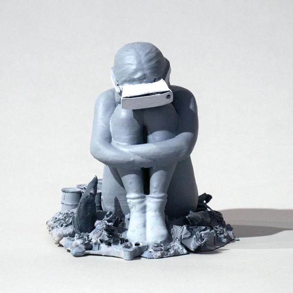Felikz Fazke: Wonderful World - Skulptur - SALZIG Berlin Art from Friedrichshain