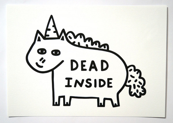 "Roydraws: ""Dead Inside"" - Print - salzigberlin"