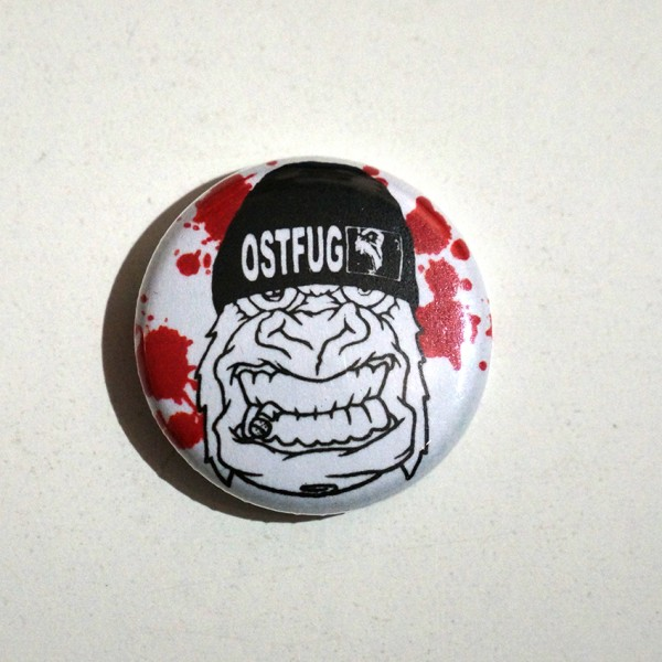 Ostfug Monkey - Button