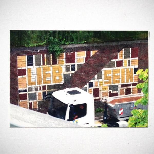 """LIEB SEIN: """"Wall"""" - Sticker"""