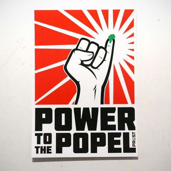 Prost: Power to the Popel - Sticker