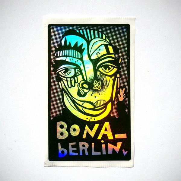 "Bona Berlin: ""Irisieri"" - Sticker at SALZIG Berlin"