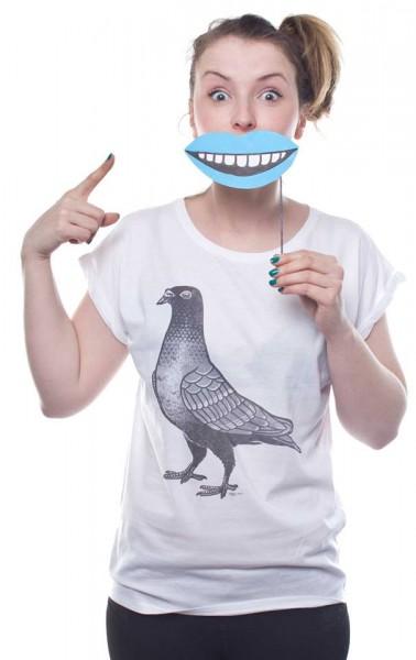 Yackfou - La Paloma - Women T-Shirt - White