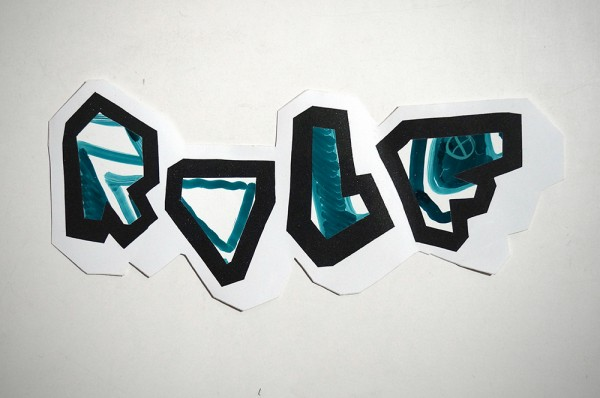 "ROLF LE ROLFE: ""Green"" - Handcut Sticker"