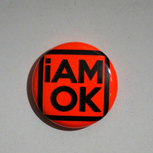 iAMOK Red 1 - Button