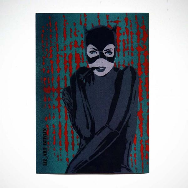 "Liz_Art_Berlin: ""Catwoman"" - SALZIGBerlin Streetart Gallery"