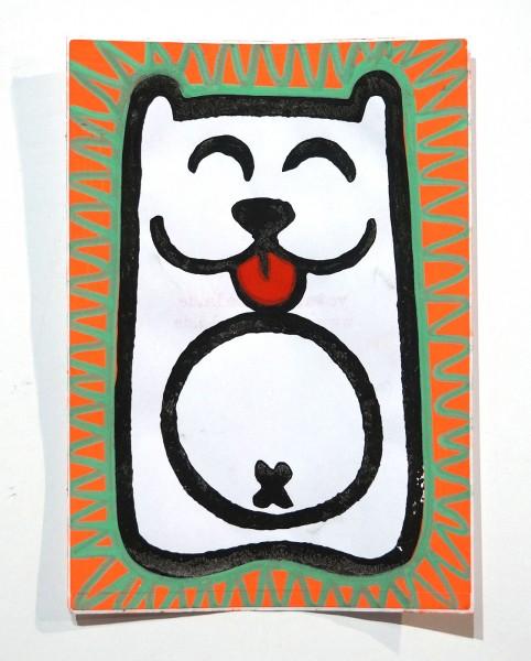 "Angry Koala: ""White Koala"" - Handmade Sticker"