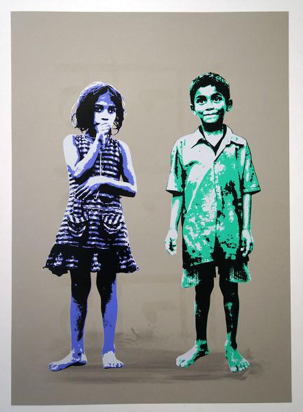 "Tona: ""Thumbs & Pikaresk (Purple/Green)"" - salzigberlin"