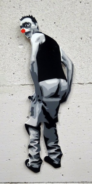 "Mimi the ClowN: ""Fashion My Ass"" -  SALZIG Berlin - Artderue"