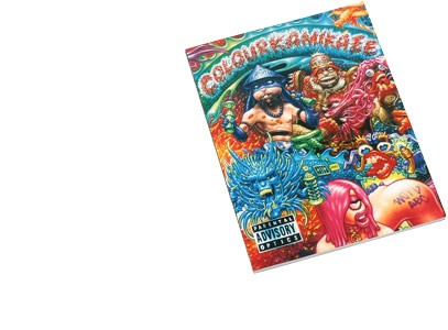 Colour Kamikaze von WonABC -  120 Seiten in Farbe, Comic Trains Walls, Softcover 23 × 30 cm